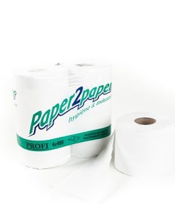 Toiletpapier, P2P, 2-laags, 10 cm x 50 m (400 vel) per rol, 40 rollen per pak-0