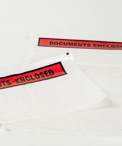 Paklijstenveloppen, bedrukt 'documents enclosed', 235 x 175 mm-0