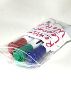 Gripzakken, LDPE, 50 My, transparant met schrijfvlak, 80 x 120 mm-0