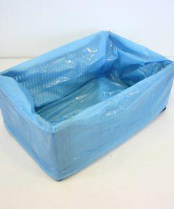 Kratzakken, LDPE, 40 My dik, 3% blauw, 600/225 x 700 mm-0
