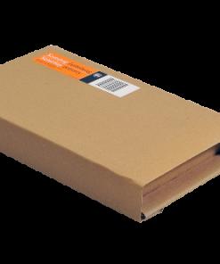 Boekverpakking, wikkelverpakking, bruin, 302 x 215 x 20-75 mm (A4)-0