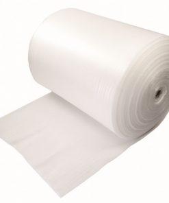 Foam, 1 mm, wit, 100 cm x 500 m per rol-0