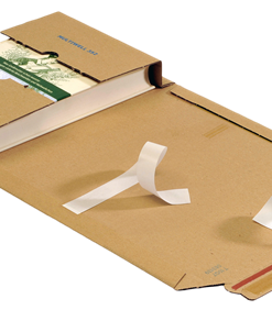 Boekverpakking, wikkelverpakking, bruin, 620 x 420 x 20-55 mm-0